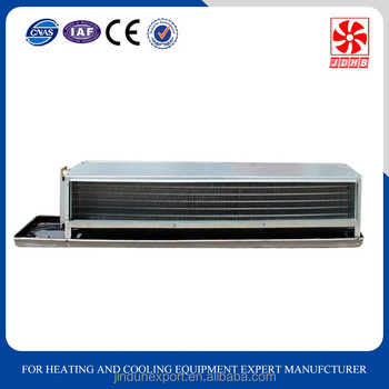 Duct fan coil price/ceiling conceal ducted type fan coil unit for Air Conditioner