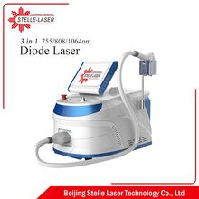 Black technology 755 808 1064nm laser hair removal machine diode laser diodo