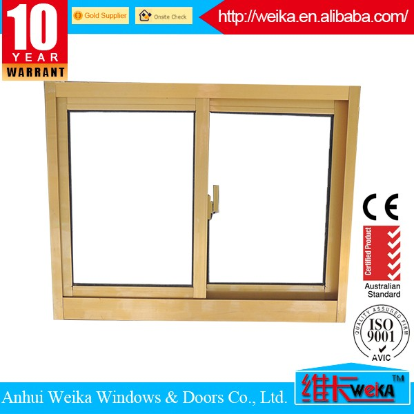 Aluminium frame sliding glass window, interior aluminum sliding window, aluminum profile sliding
