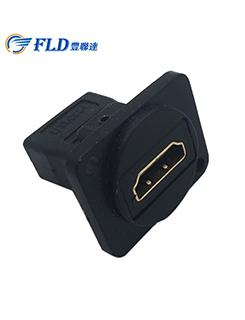 กันน้ำ USB2.0 พอร์ตเชื่อมต่อซ็อกเก็ต translate USB2.0 สัญญาณซ็อกเก็ต