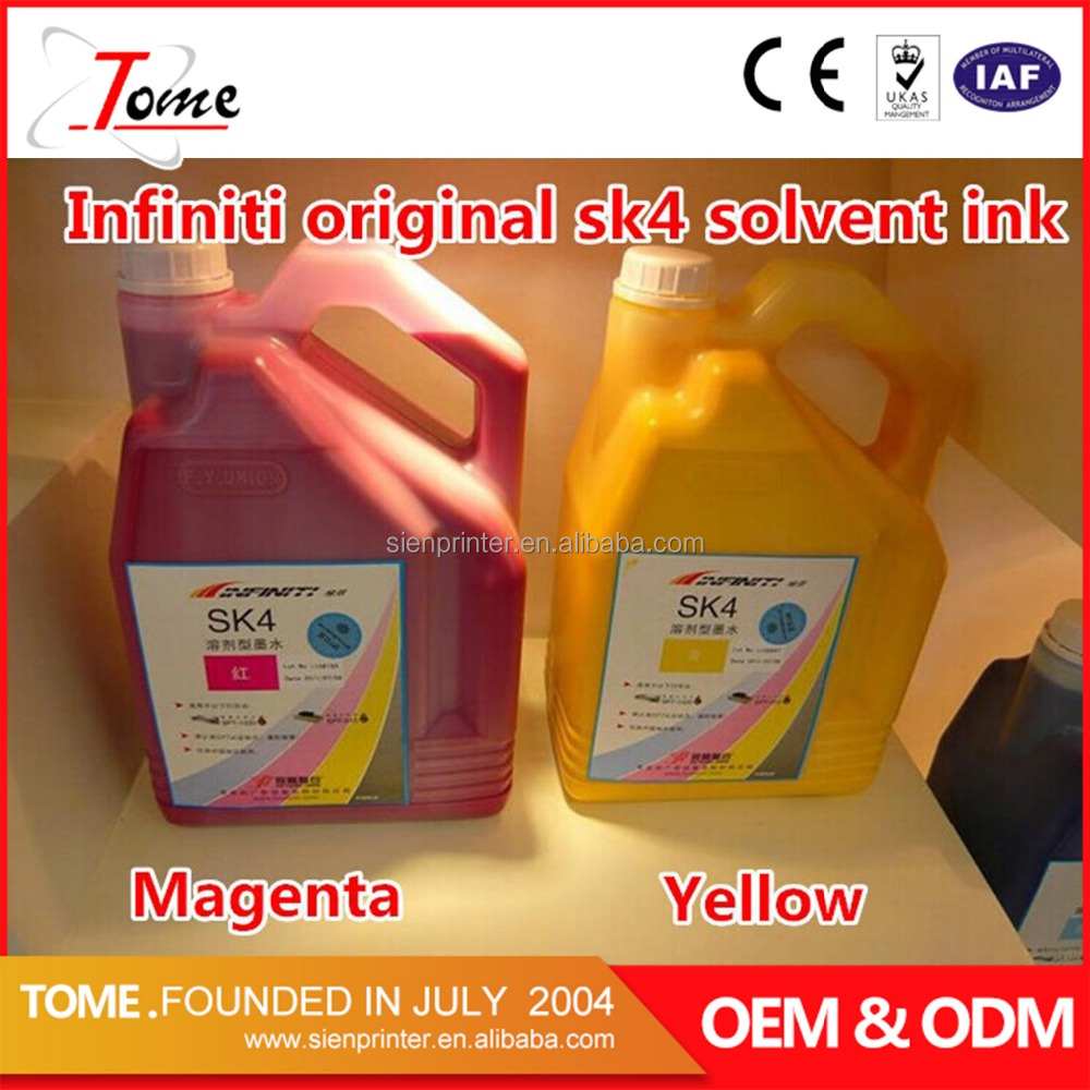 orginal sk4 solvent ink inkjet for infinity flora crystaljet printer big promotion price