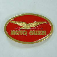 business gift eagle logo oval western craft belt buckle