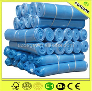 Quality soundproof EPE/EVA waterproof floor underlayment