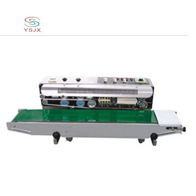 2019 Factory Seed packaging bag sealer stainless steel heat sealing machine with low price