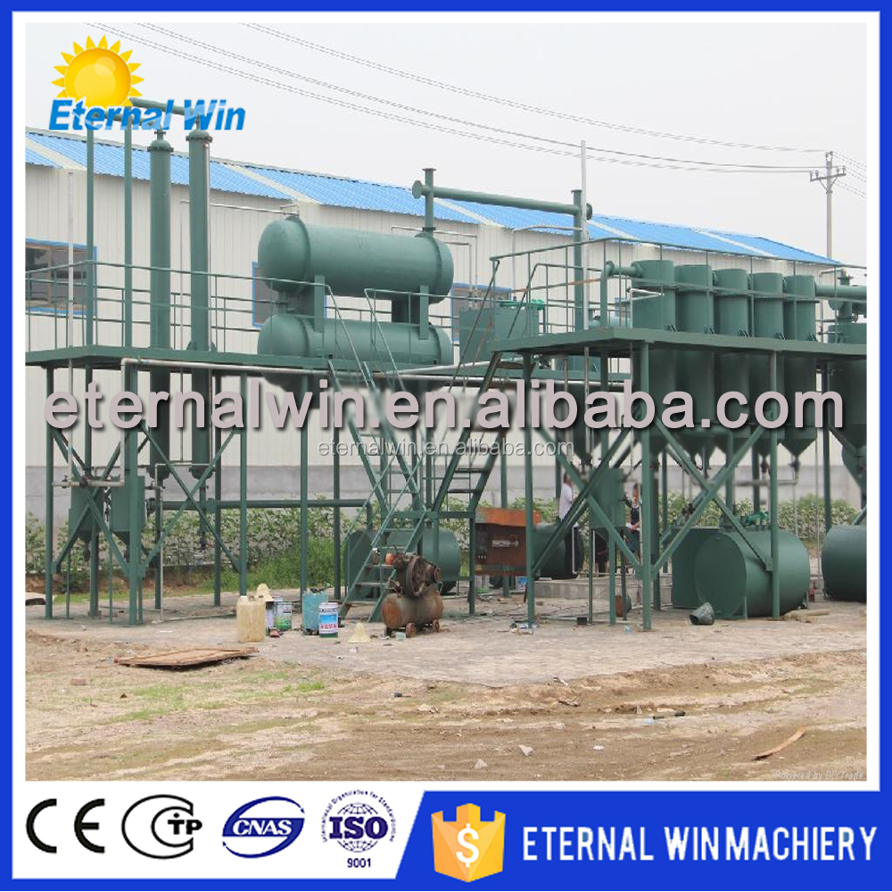 Used Gasoline Engine Oil Refinery/Oil Purification Unit/Waste Oil Recycling Series machine