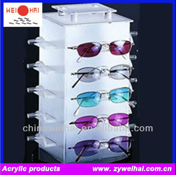 Acrylic Materials Spectacle Display Stands