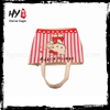 Fashion style hessian large shopping bag with CE certificate