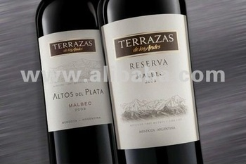 Argentine Wine Terrazas De Los Andes Of Chandon Caves Buy Wine Product On Alibaba Com