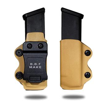 KYDEX Guns Magazine Holster Case Clip GLOCK 9/40/357 Fits Glock 17/Glock 19/Glock 26/23/27/31/32/33 Pistol Magazine Yellow