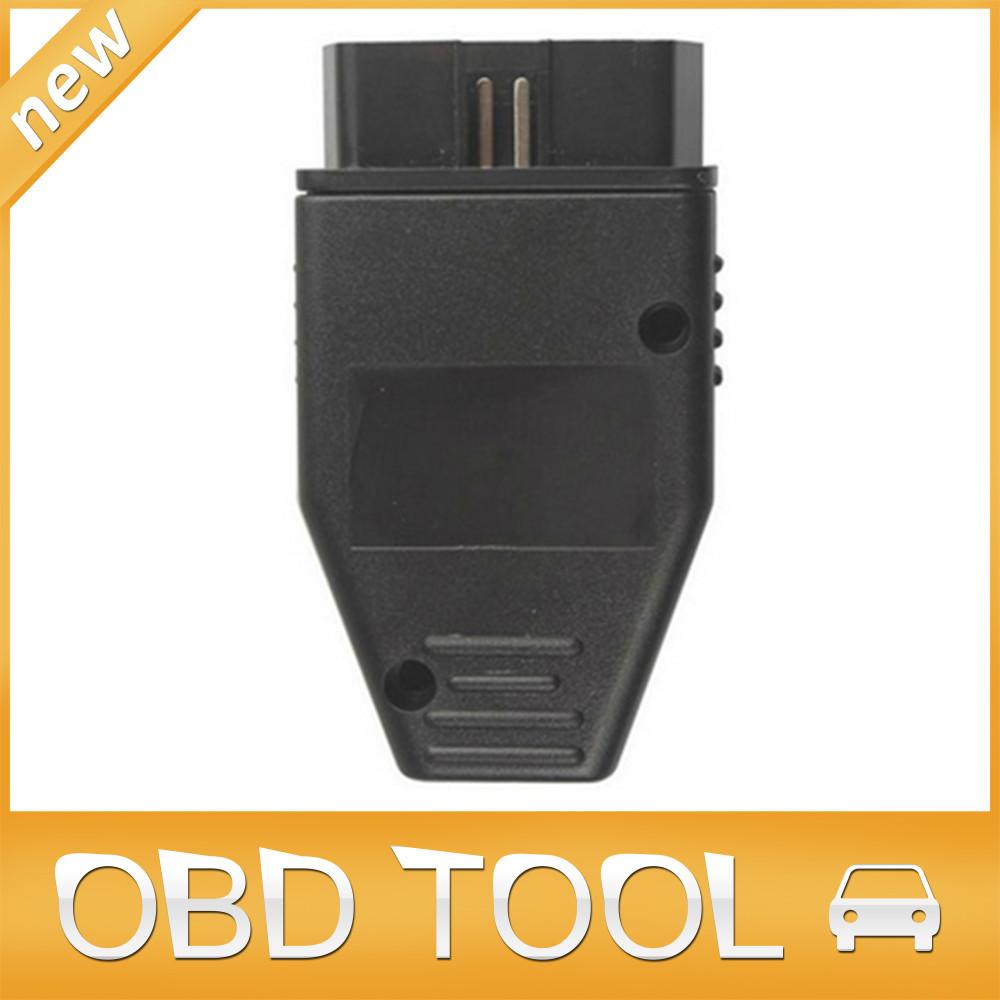 Бесплатная доставка 50 шт./лот 16 контакт. разъем obd obd2 16pin адаптер eobd2 obdii J1962 разъем obdii разъем с винтами