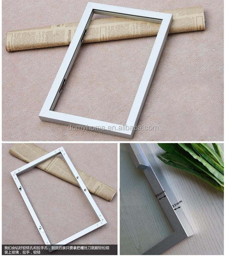 20mm Breite Aluminium Glastür Rahmen Extrudierten Aluminium ...