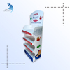 Promotional standing retail branded acrylic shop food wire display rack