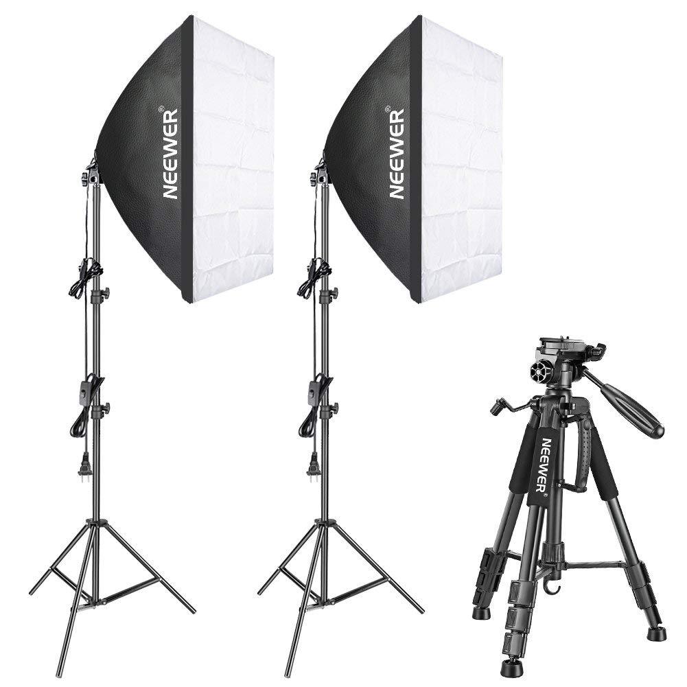 Photo Studio 24 Softbox with 7ft Light Stand Kit F Speed Lite Flash Speedlight