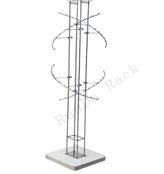 clothing hanging stand/steel big roundness hanger