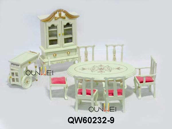 Victoria Wooden Handmade Dollhouse Miniature Diy Kit Wooden