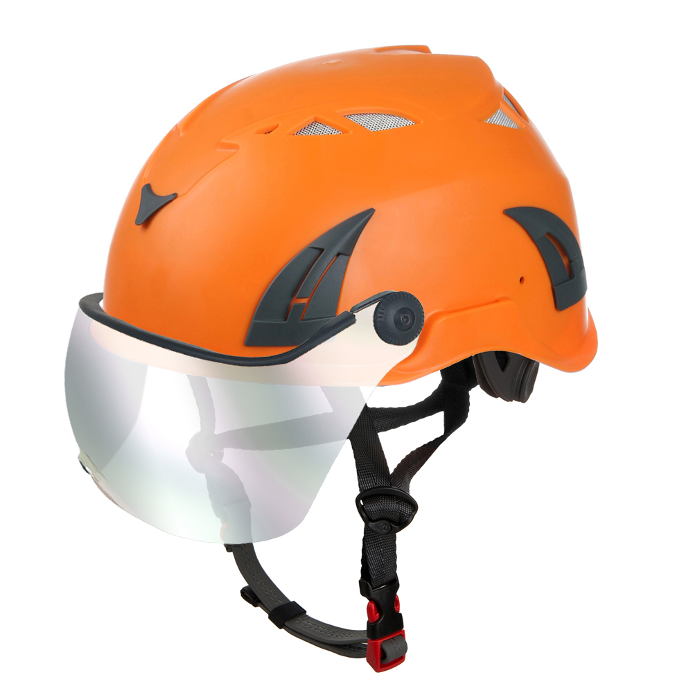 Safety-helmet-with-ultraviolet-proof-sun-goggle