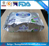 Special design! aluminum foil sachet for wet wipe packaging paper
