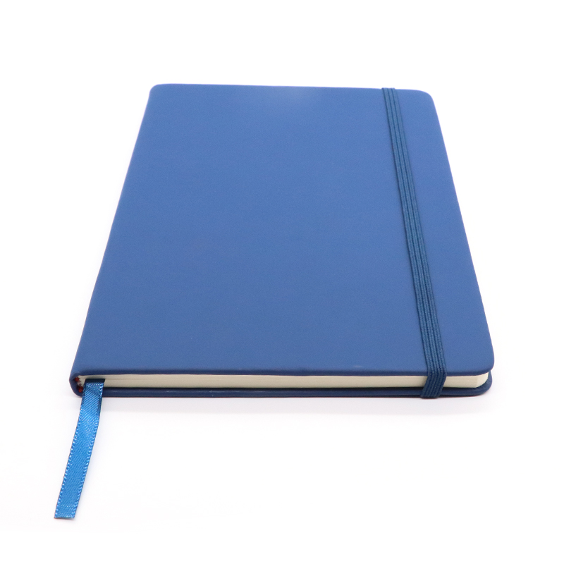 Forniture per ufficio A5 Pagina UN Giorno Diario 2019 Notebook Rubber Band, Professionale Made Organizer In Pelle Per Notebook