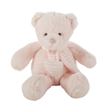Custom stuffed lovely Kids plush small pink cheap teddy bear with good quality