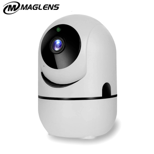Mini WiFi IP Camera, Motion Automatic Tracking/Two Way audio/Night Vision/Mobile View/Monitor for Baby