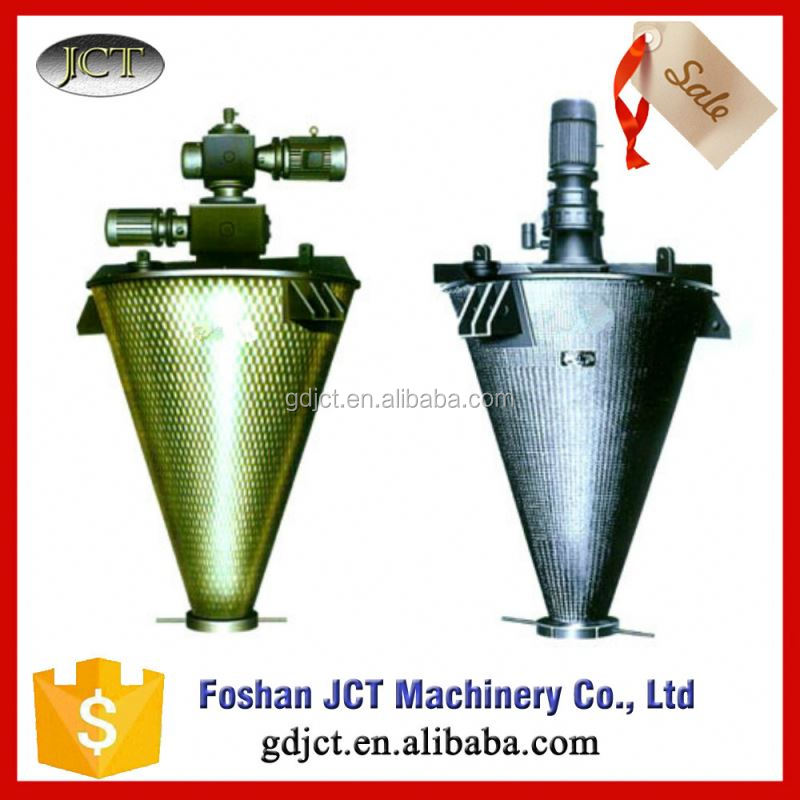 JCT stainless steel double cone mixing&blending machine blender powder nauta mixer