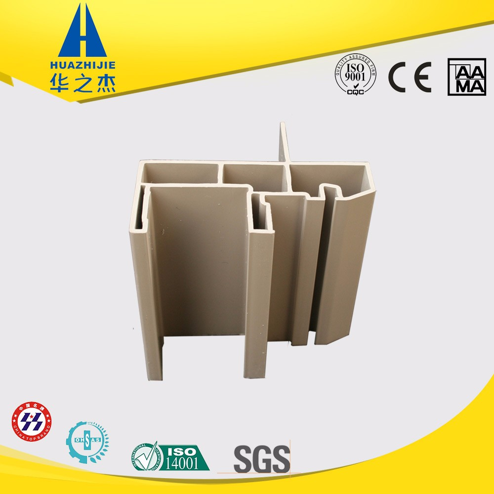 American style plastic door and window profile color frames