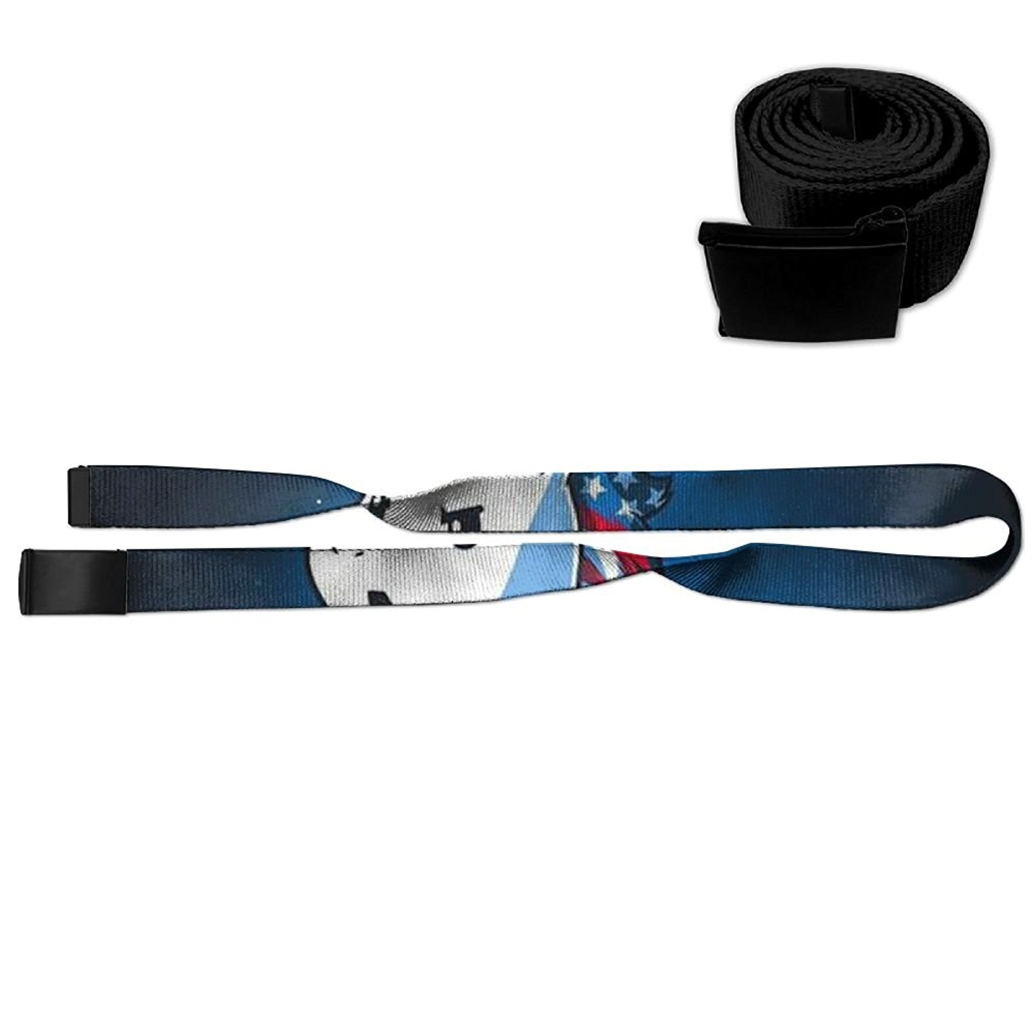 3a48c56fb2 Get Quotations · MIIKOCCUnicorn Printing Of 3D Graphics Of Adjustable  Waistband Metal Buckle Outdoor Leisure Belt