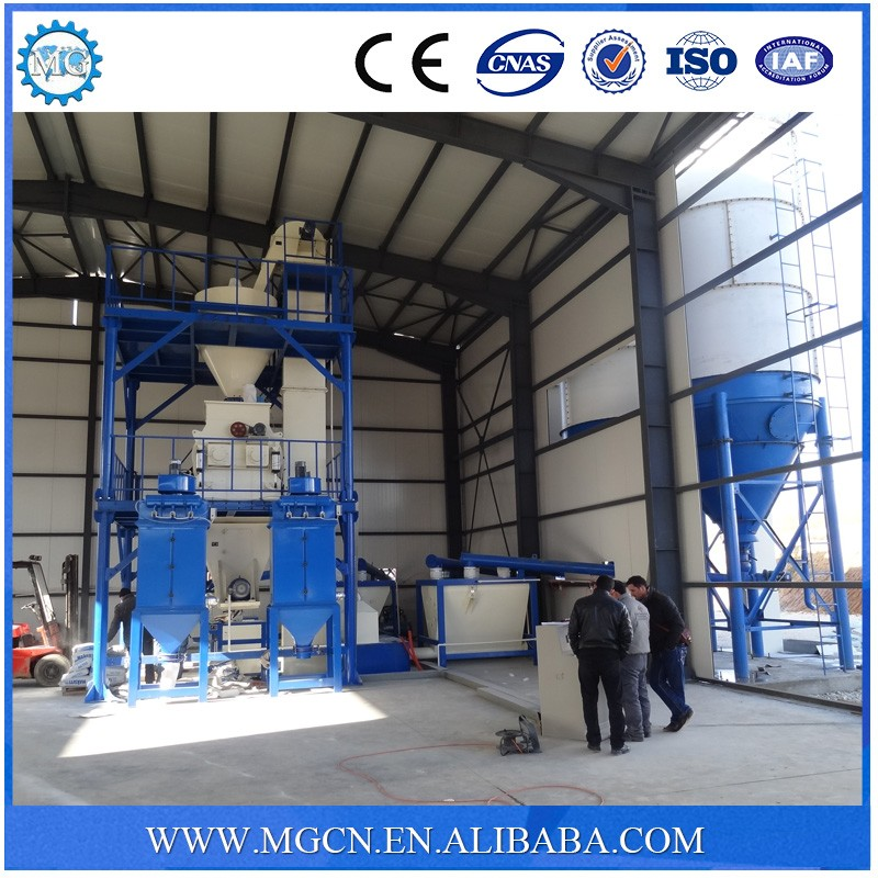 Latest Chinese product CE certificate automatic construction using dry power putty mortar mixing & packing machine supplier