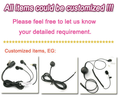 Manufacture direct sale 2016 racing helmet headset for Icom 2 pins IC-A4 IC-A5 IC-A6 IC-A24 IC-A14