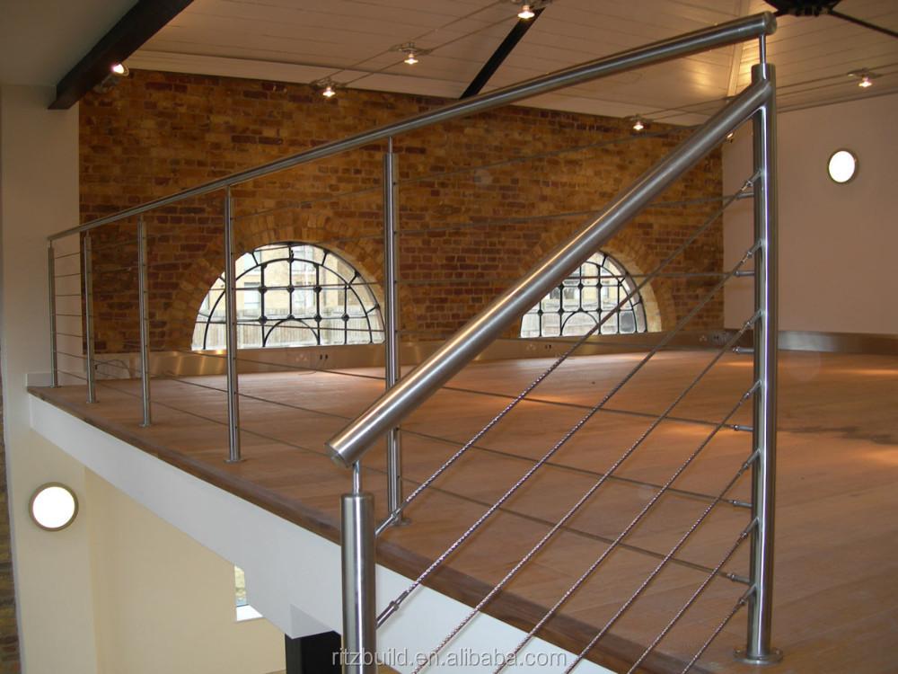 Hogar o uso villar alambre de escalera de barandilla for Escaleras villar