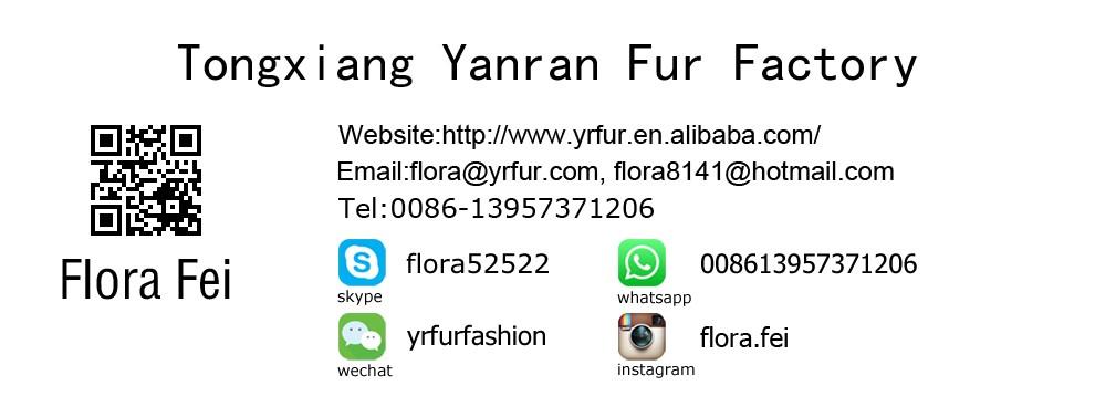 YR504 Tùy Chỉnh Kích Thước Rất Nhiều Màu Sắc Dày Đan Phụ Nữ Bất Rabbit Fur Khăn Choàng