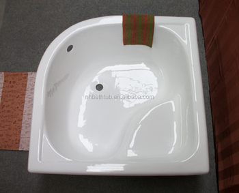 Square Tub square corner cast iron bathtub/ bath tub with seat - buy square