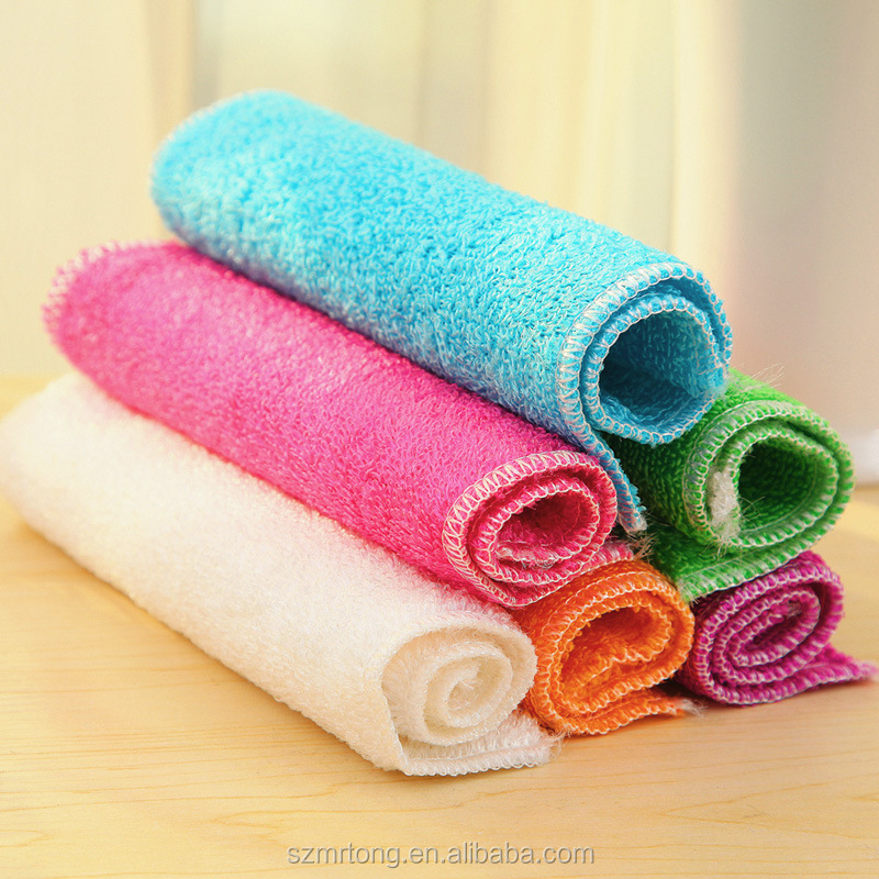 Super absorbent house cleaning microfiber dish towel
