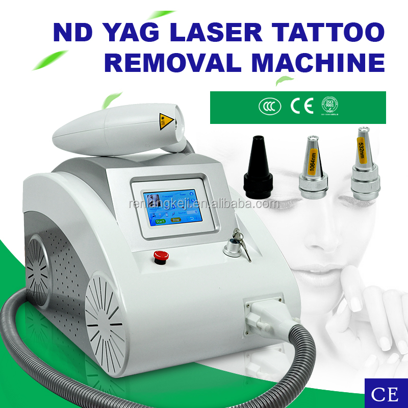 Professional Tattoos removal medical laser machine 532nm/1064nm Q-switched Nd-YAG Laser