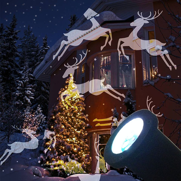 Led landscape light christmas xmas tree garden for outside for Projecteur led exterieur noel