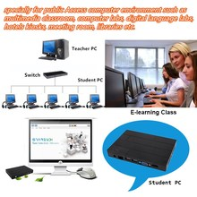 Arm RDP8.0 Cloud n computing l300 thin client for Computer Lab Classroom, multimedia classroom