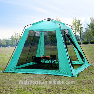 Pop Up Outdoor Hiking Travel Beach Full-automatic Wind Resistant Camping Tent
