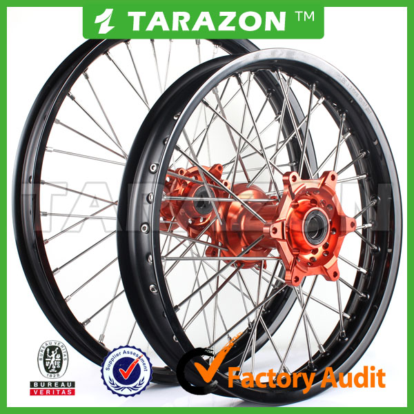 Hot Sale New Design Aluminum Front and rear Alloy Wheels for CRF 450