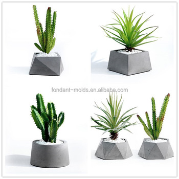 3d Concrete Vase Mold Concrete Planter Molds For Sale Buy Concrete