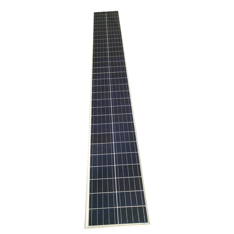 narrow solar panel 130wp <strong>poly</strong> Crystalline made in China