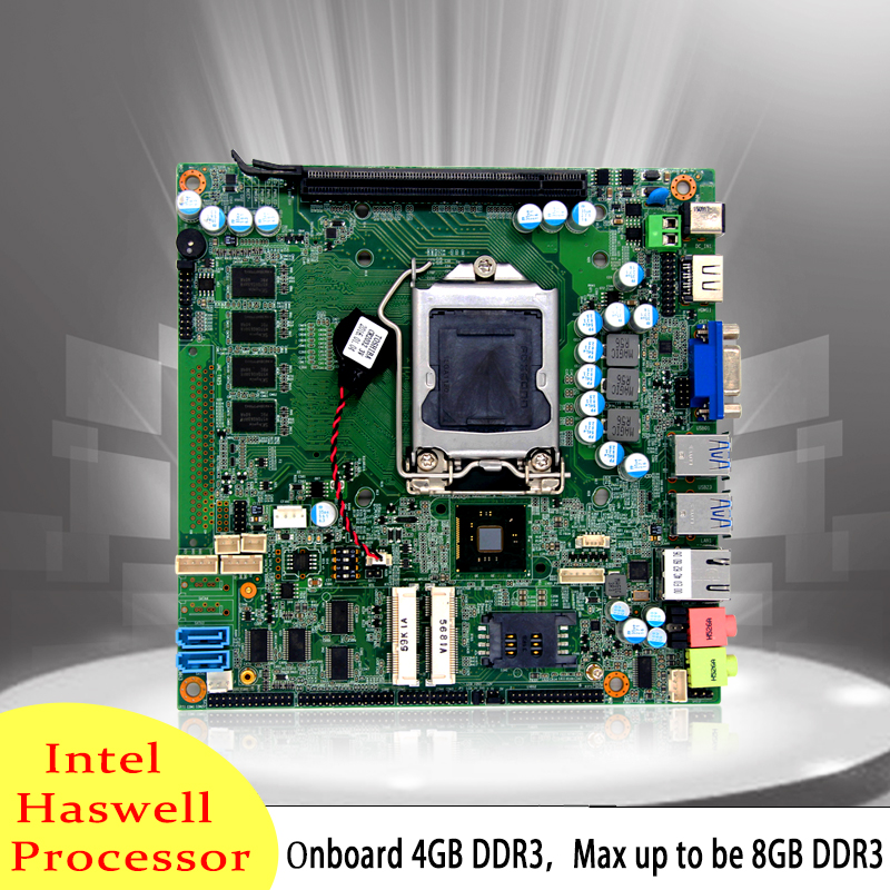 H81 4th Generation i7/ i5/ i3, Processors Mini ITX Motherboard with H81 Express Chipset
