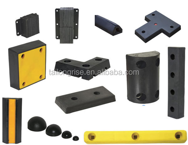 HEAVY DUTY DOCK BUMPER FRONT/SIDE PLATES UHMWPE RUBBER PLATE