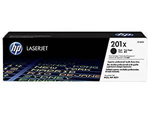 HP 201X BCYM Original LaserJet Toner Cartridge Set - Black, Cyan, Yellow, Magenta (CF400X, CF401X, CF402X, CF403X) - for LaserJet M277dn/M277dw Pro M252dn/M252dw Sealed in Retail Packaging