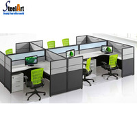 Popular sale production office partition with movable sound proof partition wall