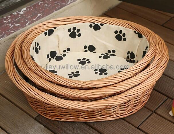 Letti A Baldacchino Per Cani : Di vimini fatti a mano letti a baldacchino per i cani cestini di