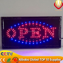 2016 Alibaba hot sale led sign board, Led Open Sign supply,led massage board