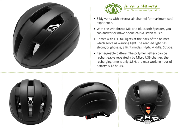 Helmet Built In Bluetooth 6