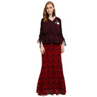 Latest Fashion Design Moden Baju Kurung Modern Beading Women Islamic Clothing