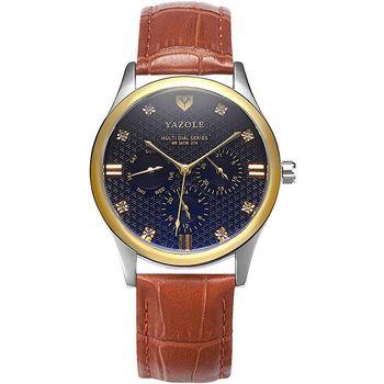 8675164b6c4b 374 de la marca reloj de diseño único de tres Real pequeño Dial impermeable  de cuarzo