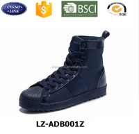 China factory top quality Branded men's boots classical man leather shoe winter fashion safety boots